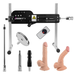 Order on Amazon, Enjoy lower prices(60$ off) Premium Sex Machine Wireless Remote Control Fucking Machine With 6PCS Attachments